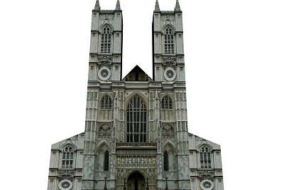 saint cathedral 3d max