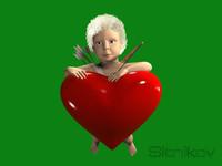 angel cherub 3d model