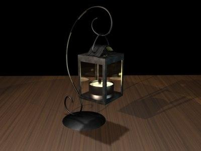 lantern 3d lwo