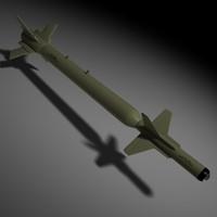 gbu-28 bunker buster 3d c4d