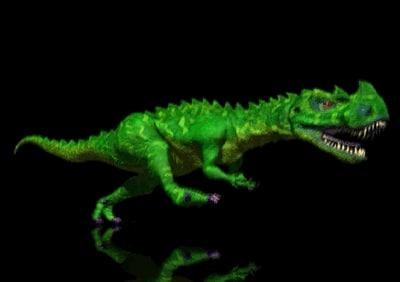 ceratosaurus creatures lightwave 3d model