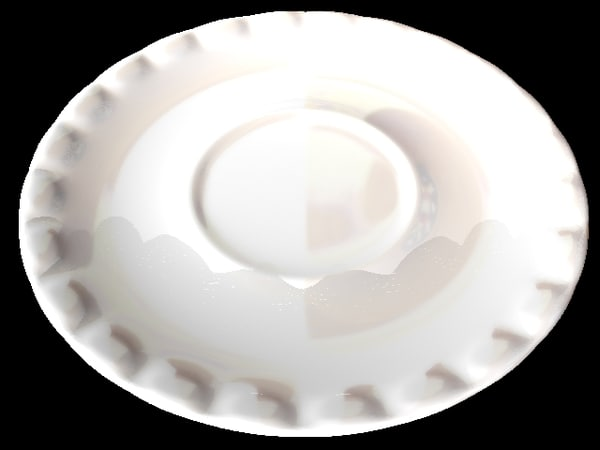 saucer 3d lwo