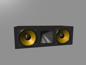 3d klipsch center speaker rc-7