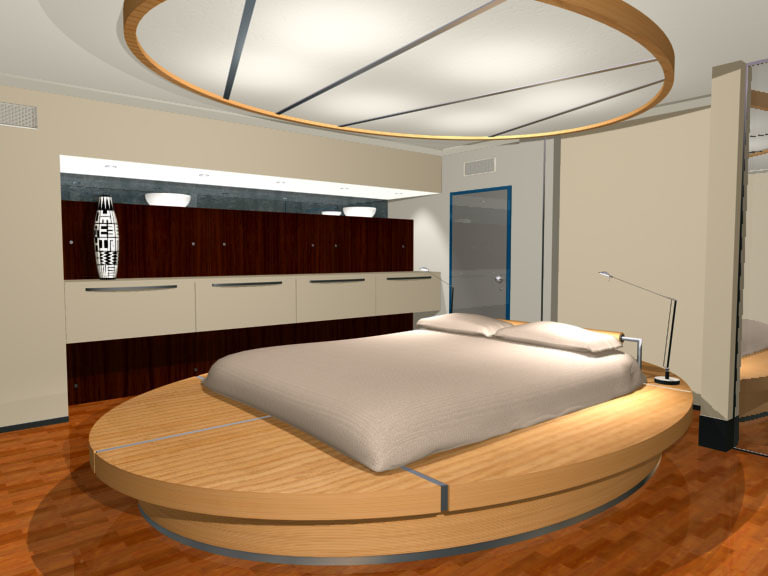 bedroom room bed 3d max