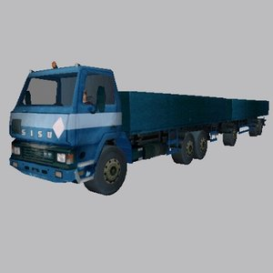 3ds max sisu sk-181 truck