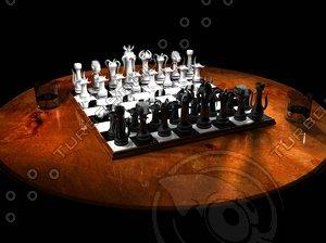 chessboard 3d max