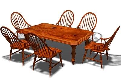 3d victorian furniture