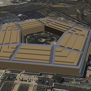 pentagon 3d model
