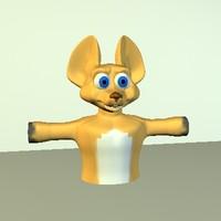 free basichead 3d model