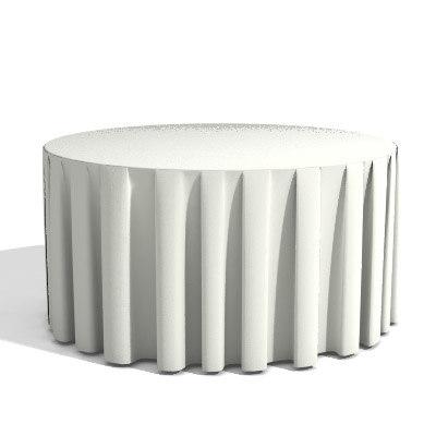 table tablecloth 3d model