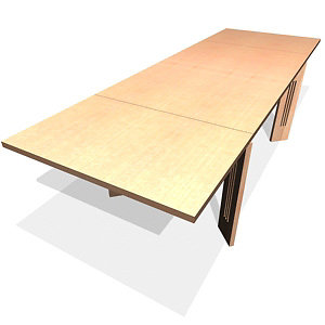 mackintosh table 3d model
