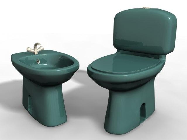 3d model wc bidet