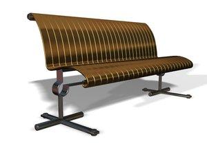 3d designer furniture model