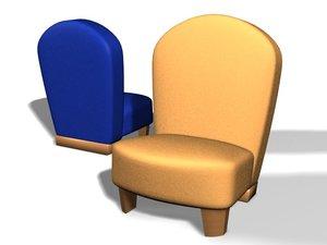 designer furniture 3d model