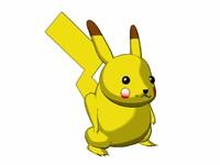 free lwo model pikachu
