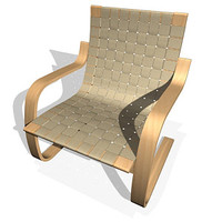 pension chair 3d max