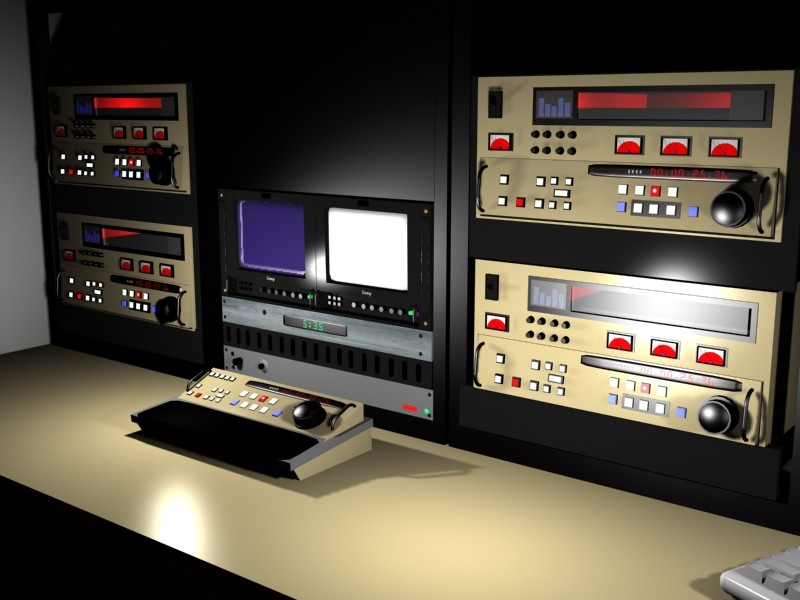 3d linear editing video model