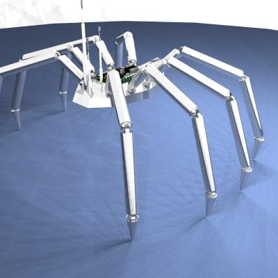 lwo reflective spider robot