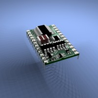 3d model chip basic stamp