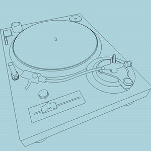 3d technics turntable model