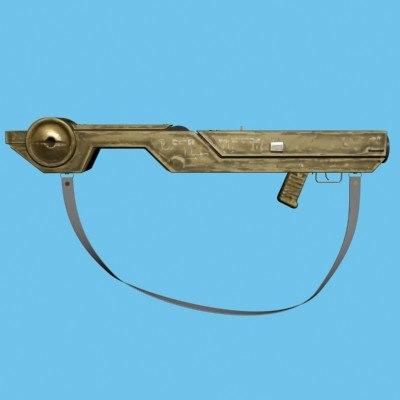 3d model acme gun