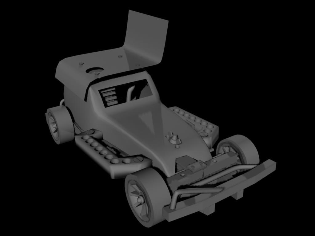3d remot car
