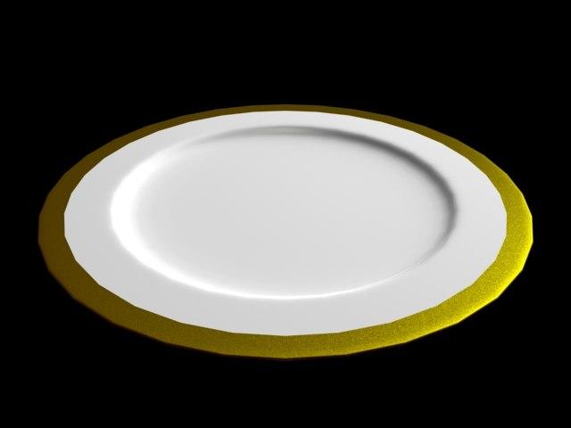 3dsmax studio plate