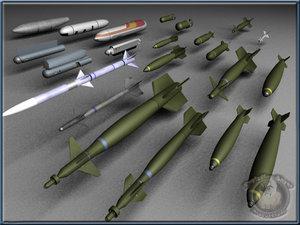3d bombs paveway sidewinder
