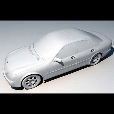 mercedes s max5 3d model