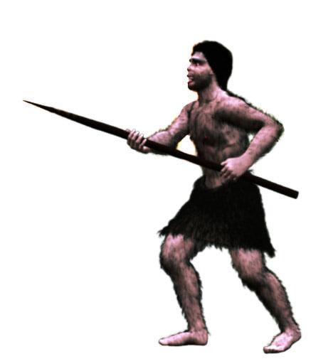 neanderthal man 3d model