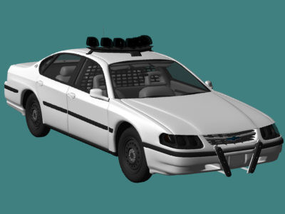 accurate chevy impala 3d model