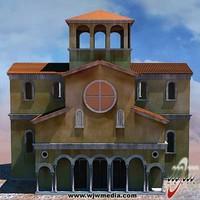 church null 3d model
