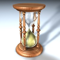 c4d hourglass
