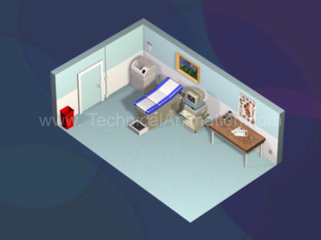 ultrasound room 3d model