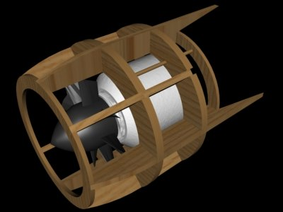 free r c electric ducted 3d model