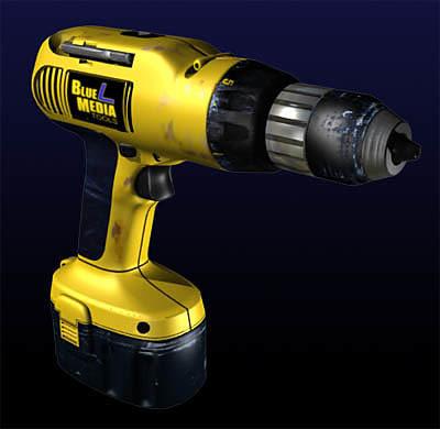 3d cordless drill model