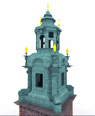 3ds max tower