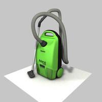 hoover duster 3d model