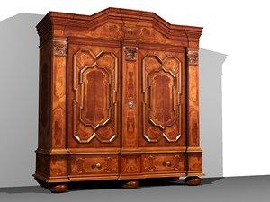 cupboard interior 3d max