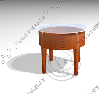 3d coffeetable table model
