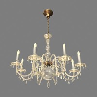 light chandelier 3d model