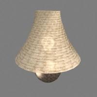 3dsmax lamp fabric
