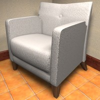 free c4d mode furniture chair seat