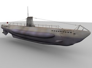 german type u-boat obj
