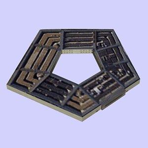 3ds building pentagon