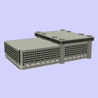 3d model building fbi