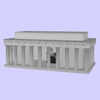 monument statue 3d model