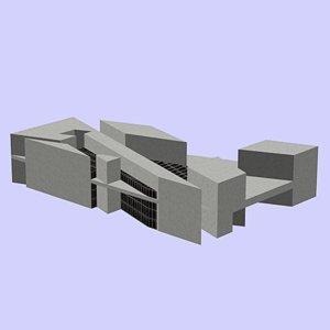 national gallery art 3d model