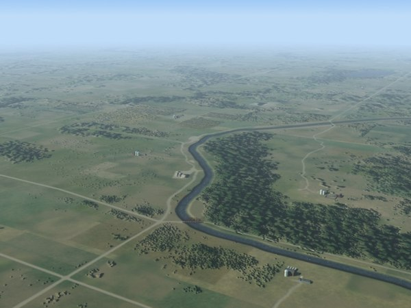 3d landscape null model