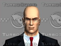 3d hitman human body model